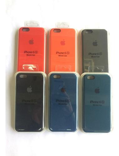 forro iphone 5/5s/se,6/6plus,7/7plus,8/8plus apple silicone