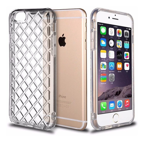forro iphone 6 plus 3d hexagonal