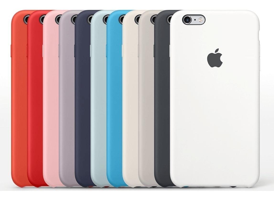 7ecf4379c69 Forro iPhone 6 Y 6 Plus Apple De Silicone - Bs. 88.907,67 en Mercado ...