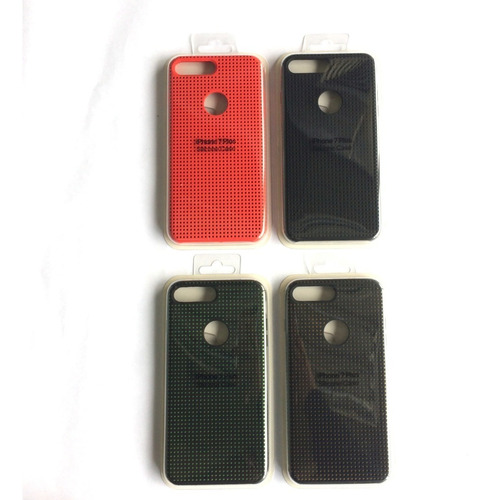 forro iphone 7 y 7 plus,8 y 8 plus apple silicone puntos