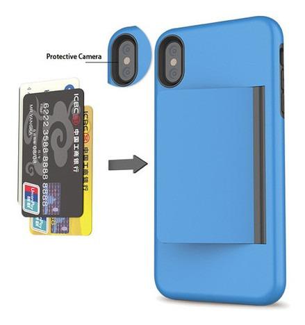 forro iphone tarjetero 6 7/8 7p/8p x/xs xsmax  11p 11promax