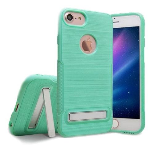 forro light green iphone 6 / 6 plus 7 / 7 plus / 8 / 8 plus