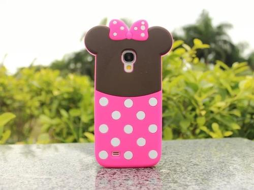 forro minnie mouse iphone 4 y 5, s3 mini, s3, s4, s4 mini