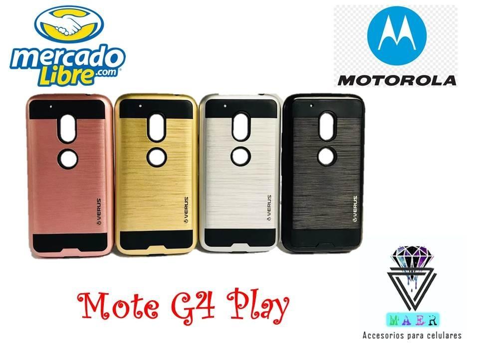 d2f8a763573 Forro Verus Moto G4 Play Antigolpes Case Motorola Estuche - Bs ...