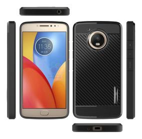 Forro Motorola Moto E4 Plus Fibra De Carbono Version Usa