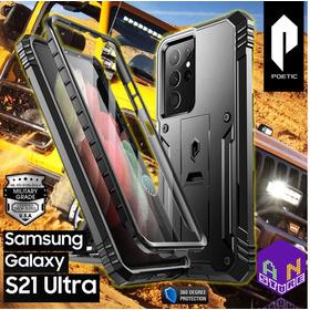 Forro Original Poetic Samsung Galaxy S21 Ultra Con Protector