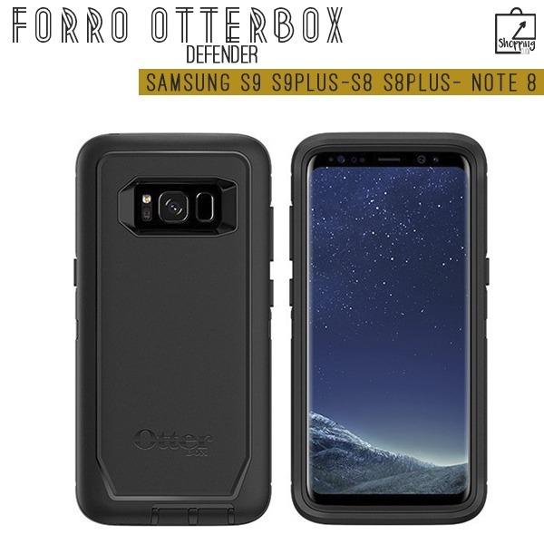 promo code 3628c 8f38a Forro Otterbox Defender Samsung S9 S9plus S8 S8plus Note 8 9