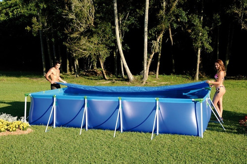 forro para piscina 10000 litros mor 12x