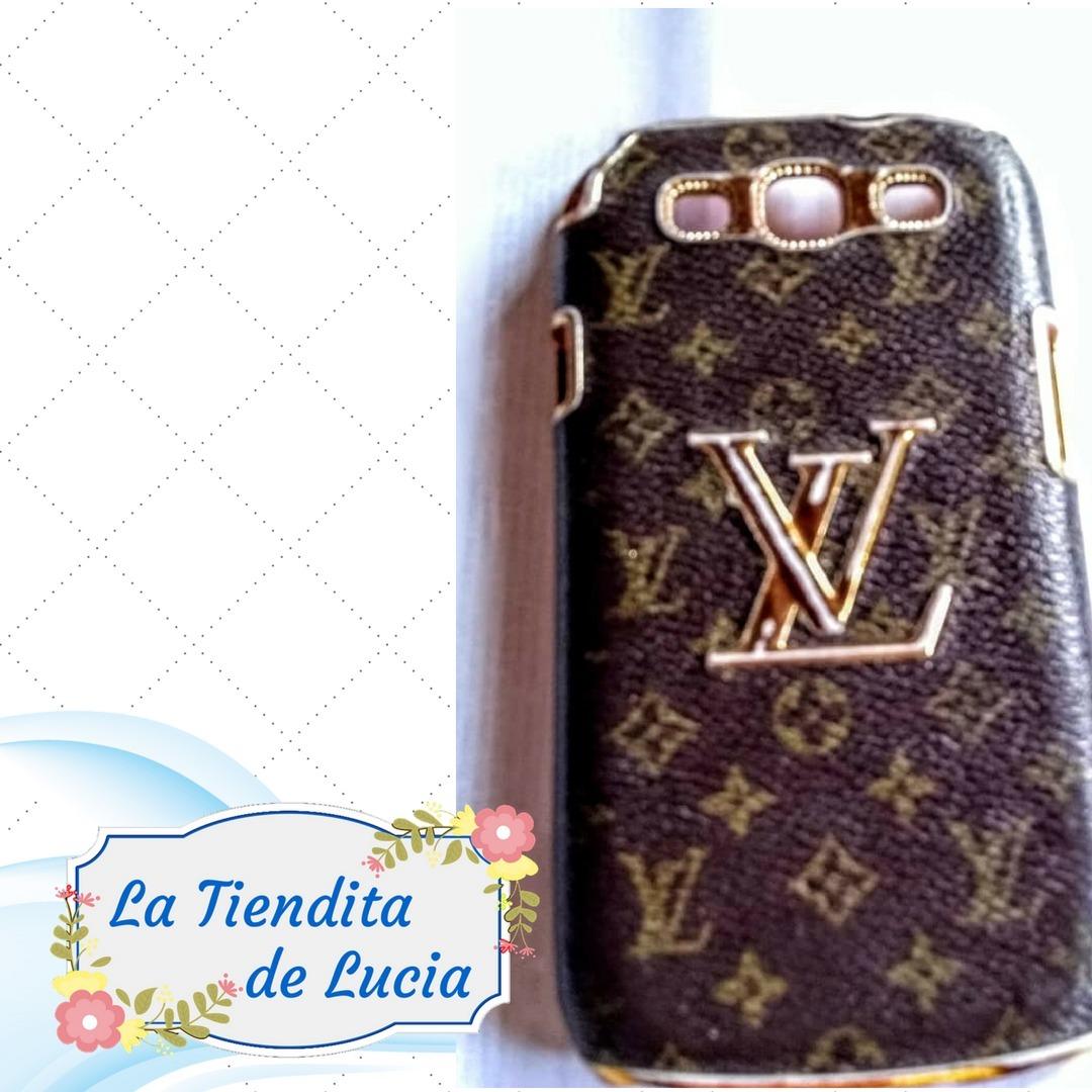 a99802ddcf1 Forro Para Samsung S3 9300 Louis Vuitton Lv - Bs. 24.000,00 en ...