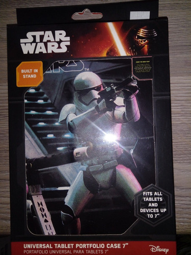 forro para tablet de 7  edición star wars