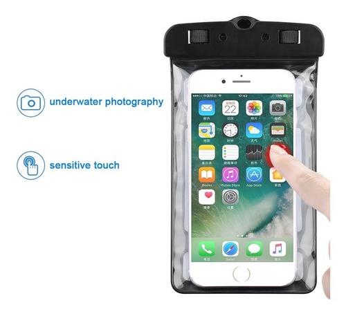 forro protector bolsa para celulares sumergible en agua