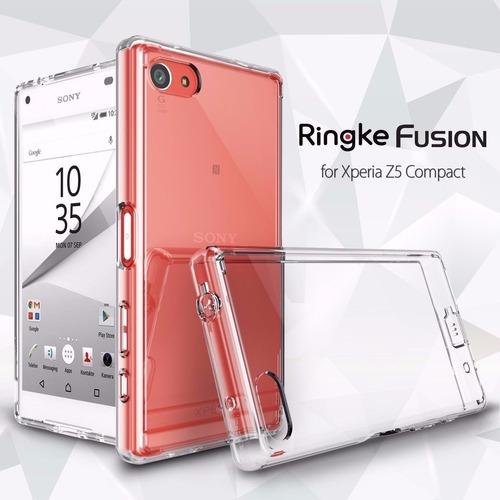 forro protector bumper ringke fusion sony xperia z5 compact
