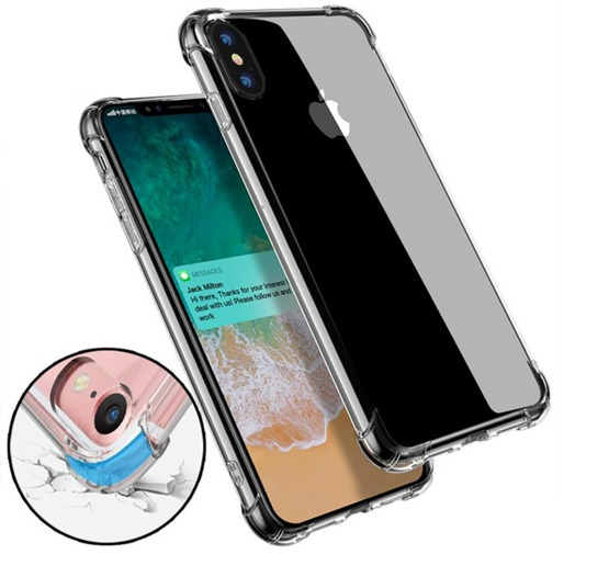 f8c9c3cab2f Forro Protector Clear Transparente iPhone X Xs Xs Max Xr 10 - Bs ...