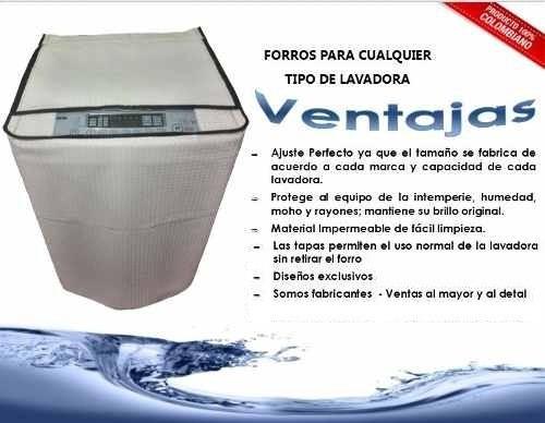 forro protector combo lavadora-secadora lg twinwash wd22vts6