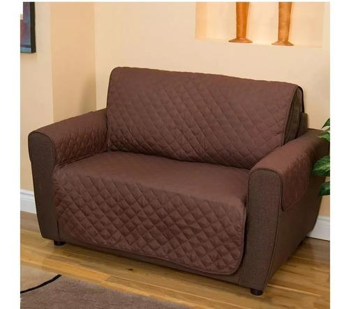 forro protector cubre sofá 2 puestos