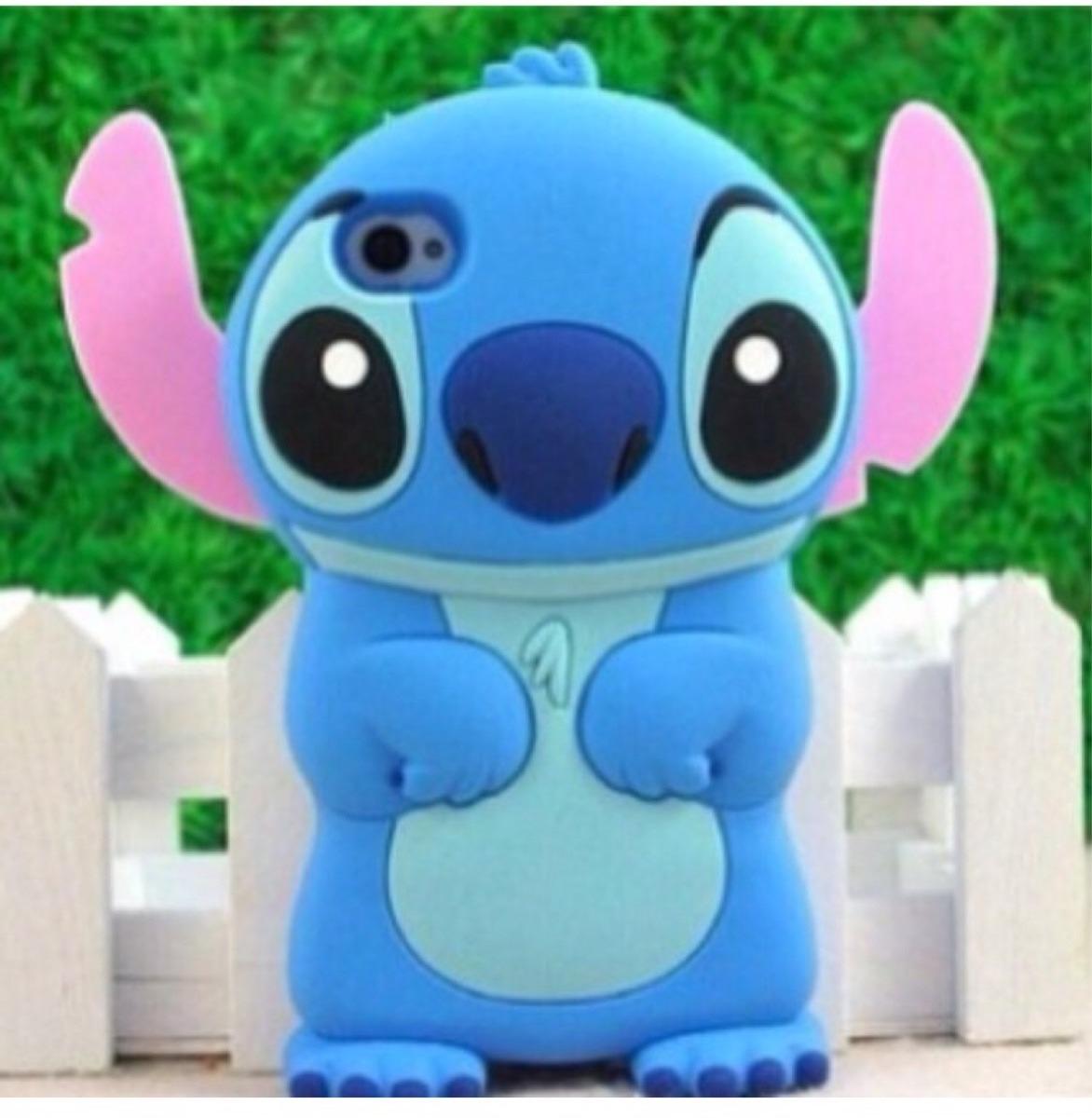 dda58763b68 Forro Protector Funda Goma Estuche iPhone 4 4s Stitch - Bs. 36.450,00 en  Mercado Libre