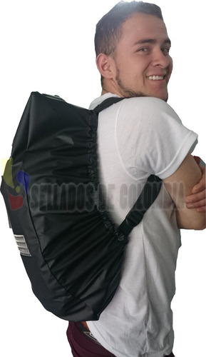 forro protector impermeable para maleta moto cuellero gratis