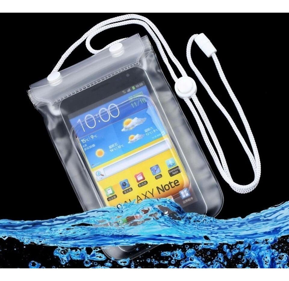 9042aedf618 Forro Protector Ipx8 Bolsa Para Celulares Sumergible En Agua ...