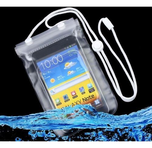 forro protector ipx8 bolsa para celulares sumergible en agua