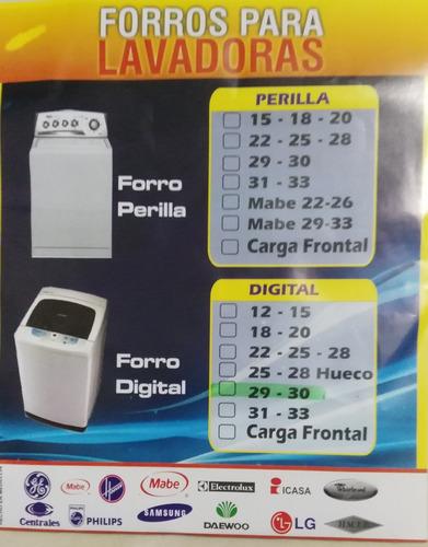 forro protector lavadora todos los modelos marcas y tamaño