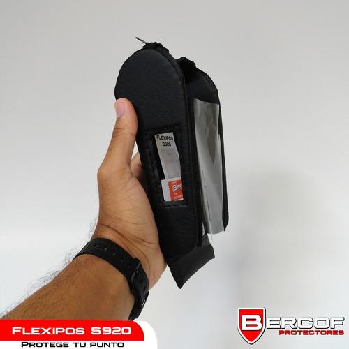 forro protector para punto de venta flexipos s920