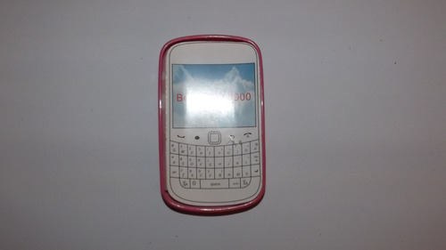 forro protector silicon goma rosado blackberry 9850/9860
