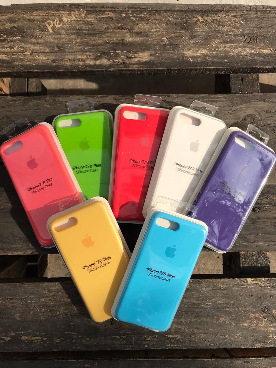 db98b3866cb Forro Protector Silicona Case Apple Para iPhone 7/8 Plus - Bs. 6.500 ...