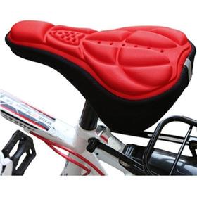 Forro Protector Silla Bicicleta  Funda Sillin Con Espuma