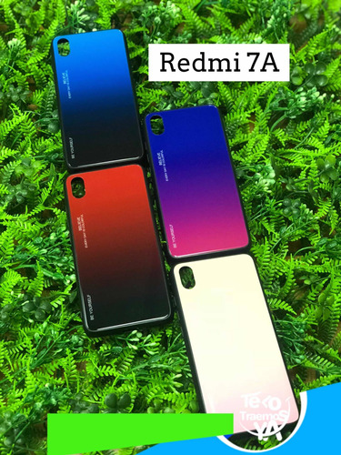 forro redmi 7 7a note 7 mi play + vidrio + pop socket ccct