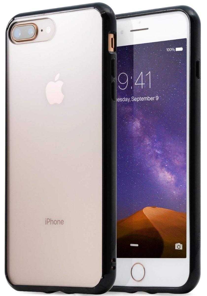 769f4301ad9 forro ringke fusion ink black para apple iphone 7 8 plus. Cargando zoom.