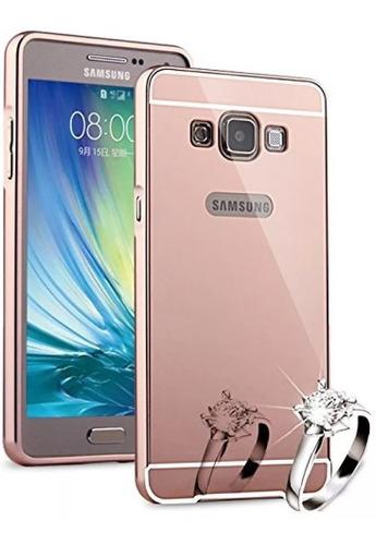 forro samsung galaxy a3 2015 a300 aluminio espejo oferta 2x1