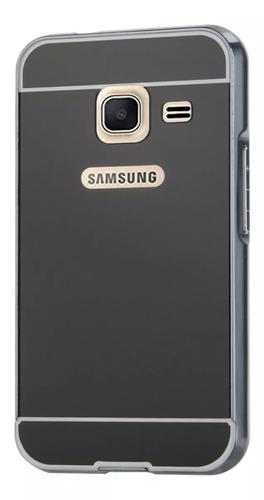 forro samsung galaxy j1 mini 2016 aluminio espejo oferta 2x1