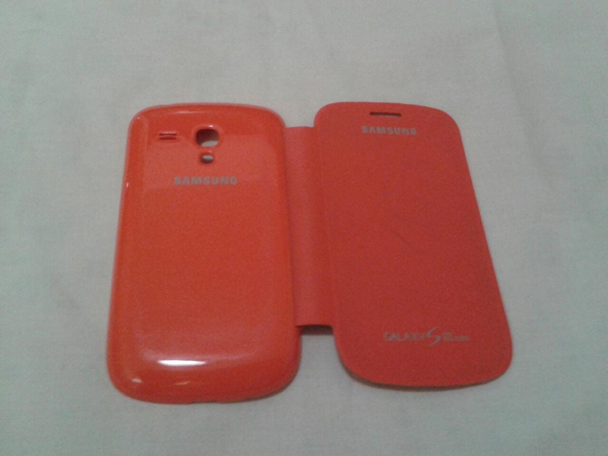 91c4a9d52dd Forro Samsung Galaxy S3 Mini Original Color Anaranjado - Bs. 1,50 en ...