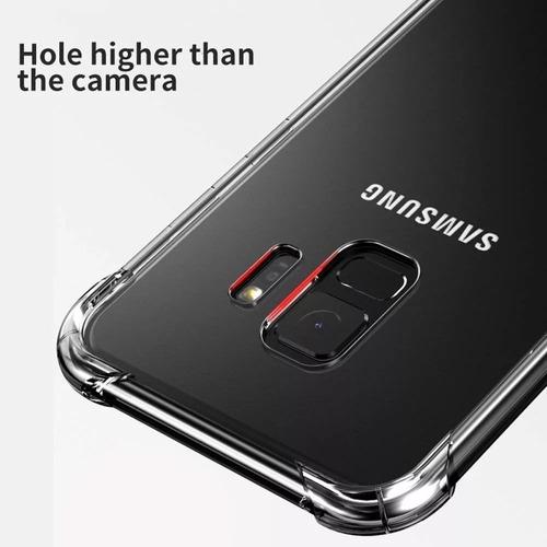 forro samsung galaxy s9 plus shockproof transparente