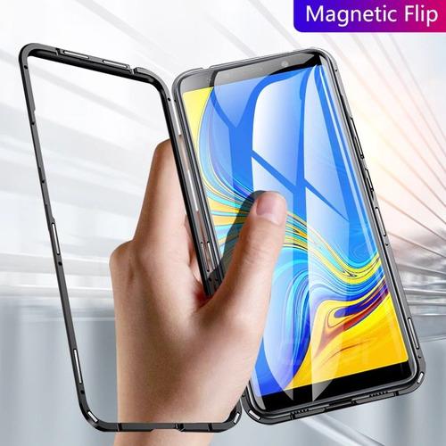 forro samsung magnetico a10 a30 a50 m10 m20 antigolpe 7v