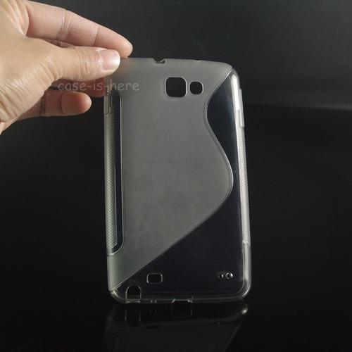forro samsung note n7000 i9220 i717 + lamina protectora
