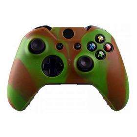 Forro Silicona Camuflado Grips Gratis Control Xbox One