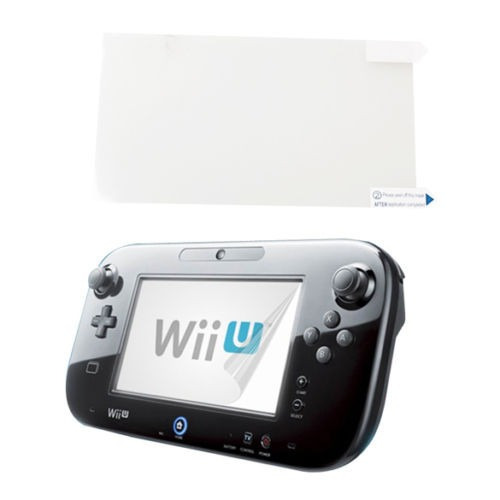forro silicona gamepad wii u + protector pantalla + grips !