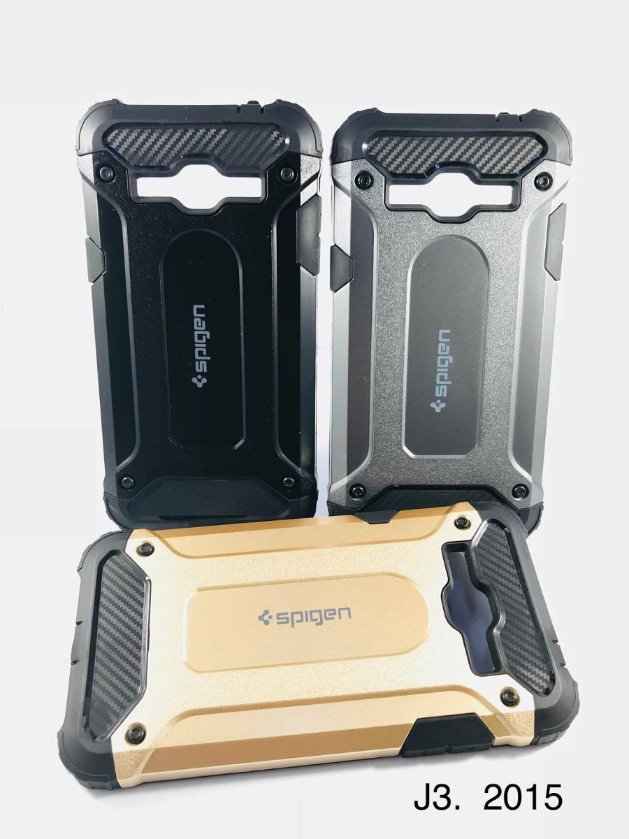 b08a5e750cb Forro Spigen Samsung J3 2015 Antigolpes Case - Bs. 19.900,00 en ...