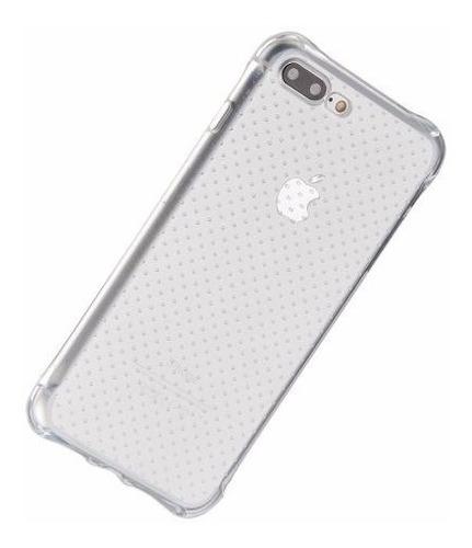 forro tipo ballistic iphone 8 / 7 y 8 7 plus + vidrio templa
