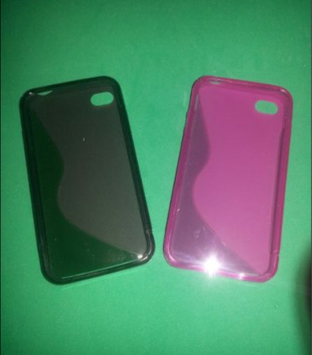 forro tipo manguera iphone 4/4s dep/transf