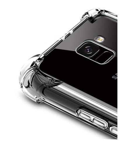forro transparente silicone tpu samsung a10 j4 j6 j5 j7 pro