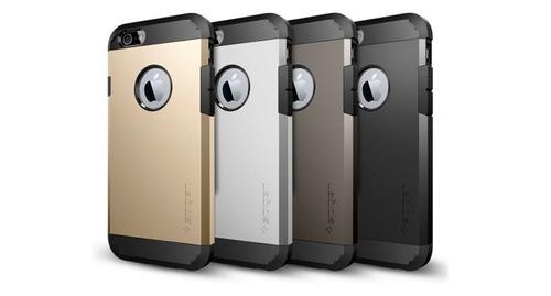 forros antigolpes spigen/slim armor iphone5 ultimo