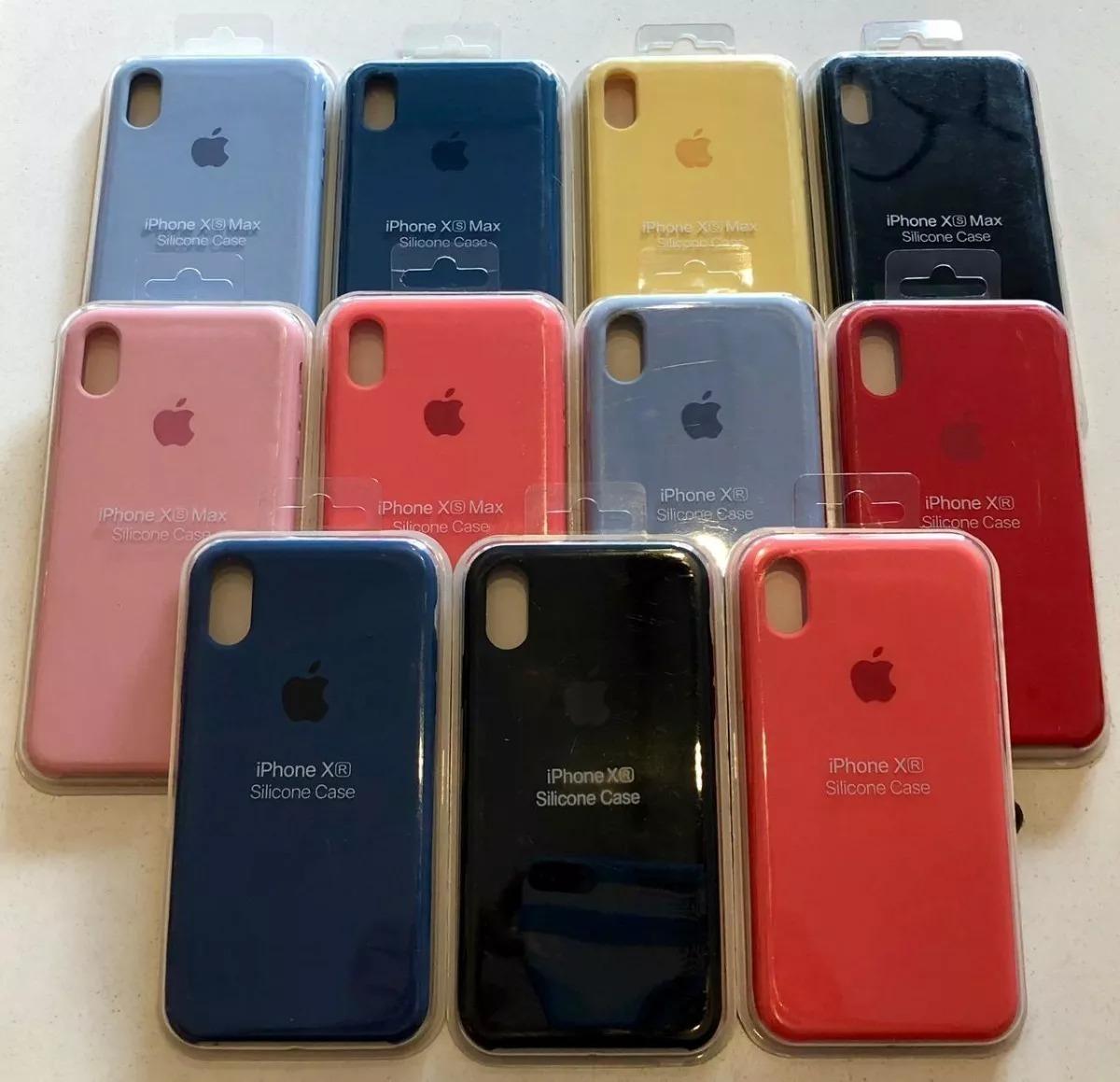 1205c206bcb Forros Apple Case iPhone X, Xs Max Y Xr Silicone Oferta - Bs. 70.000 ...