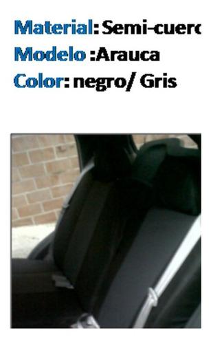 forros asientos para vehículos chery x1, arauca