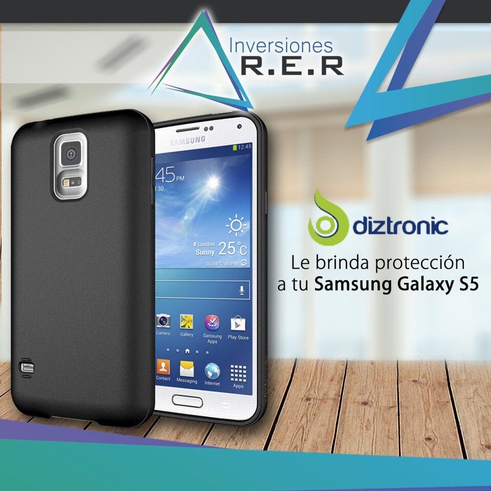 hot sale online a40f9 d7425 Forros Cubierta Diztronic Samsung Galaxy S5