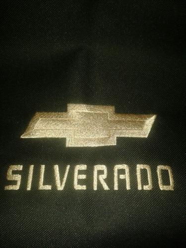 forros de asientos impermeables chevrolet silverado 4ptas