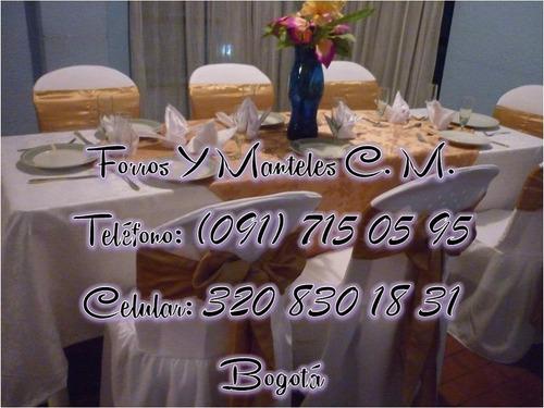 forros de sillas rimax, venta de alfombra roja