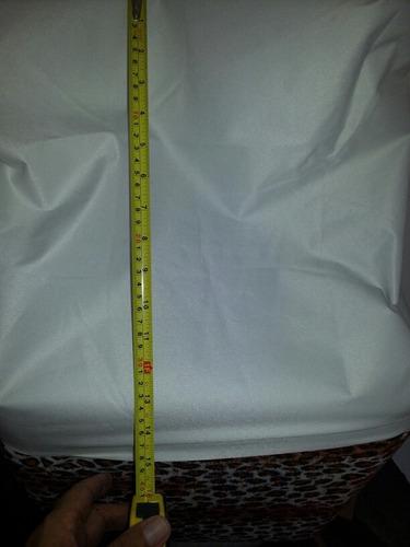 forros de tela blanca  impermeable para puff de 40x40x40