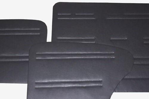 forros laterais para fusca até 77 cinza (4 peças)